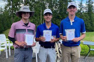 Brock Maulding, Nathan Yocam and Baylor Larrabee